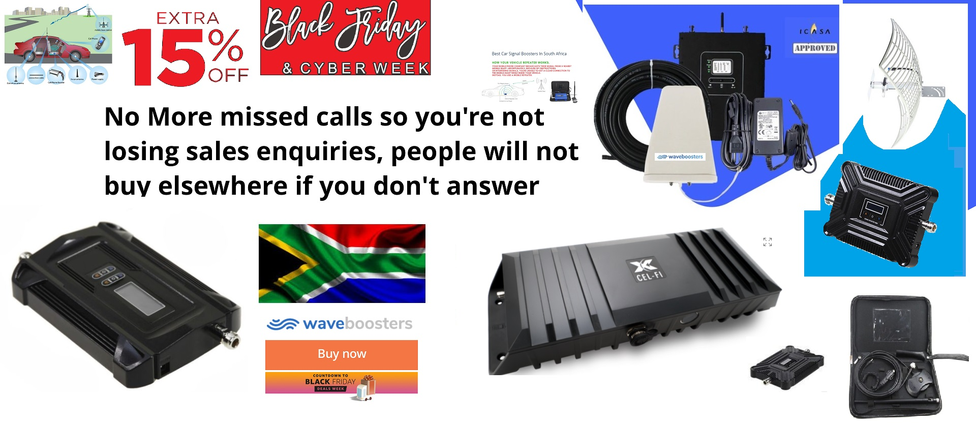 15% Off Black Friday Offer For A Signal Booster